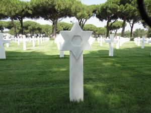 The grave of Stanley Goldblum